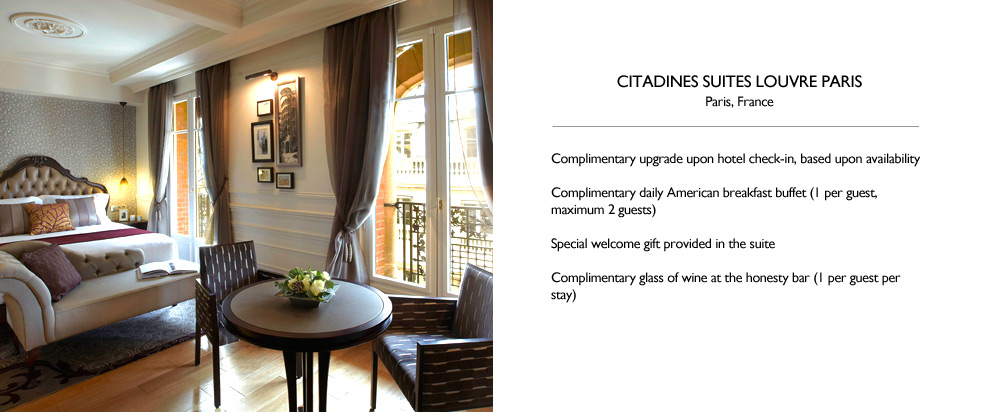 Citadines Suites Louvre Paris