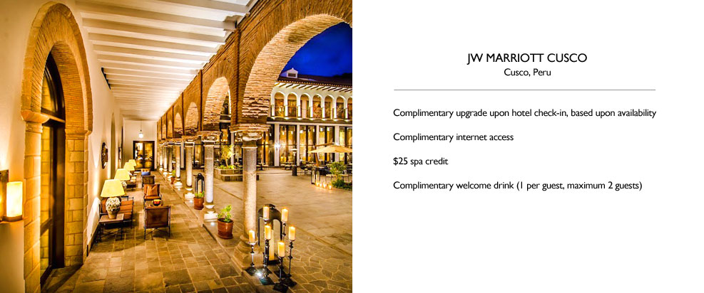 JW Marriott Cusco