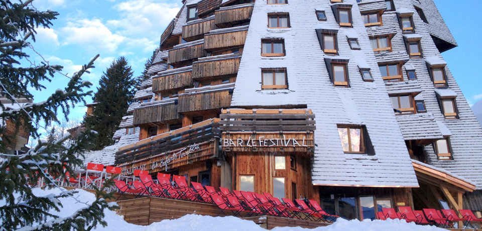 Hotel des Dromonts - A cool ski Resort in French Alps