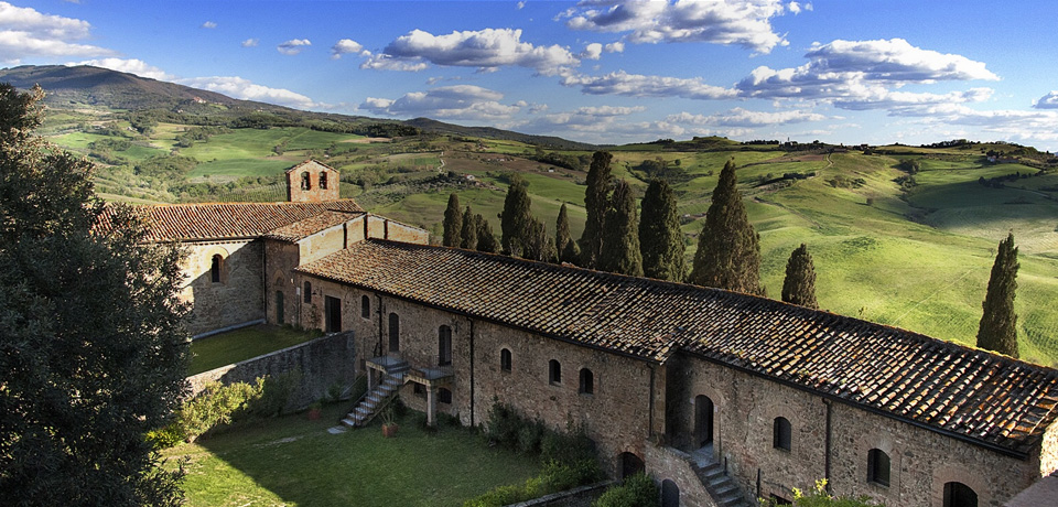 Castel Porrona Relais - 900-year-old castle now five-star hotel in  Tuscany, Italy