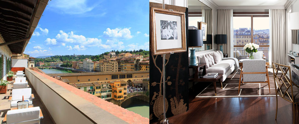 PORTRAIT FIRENZEr Hotel, Florence Luxury Hotels, Florence Boutique Hotels, New hotels in Florence