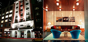 6 Columbus - Boutique Hotel New York City. Columbus Circle, Midtown, Manhattan, NYC.