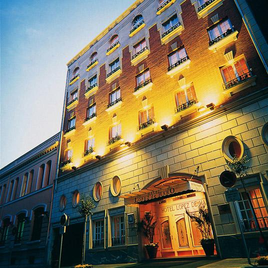 Lopez de haro bilbao spain best design hotel deals for Design hotels spain