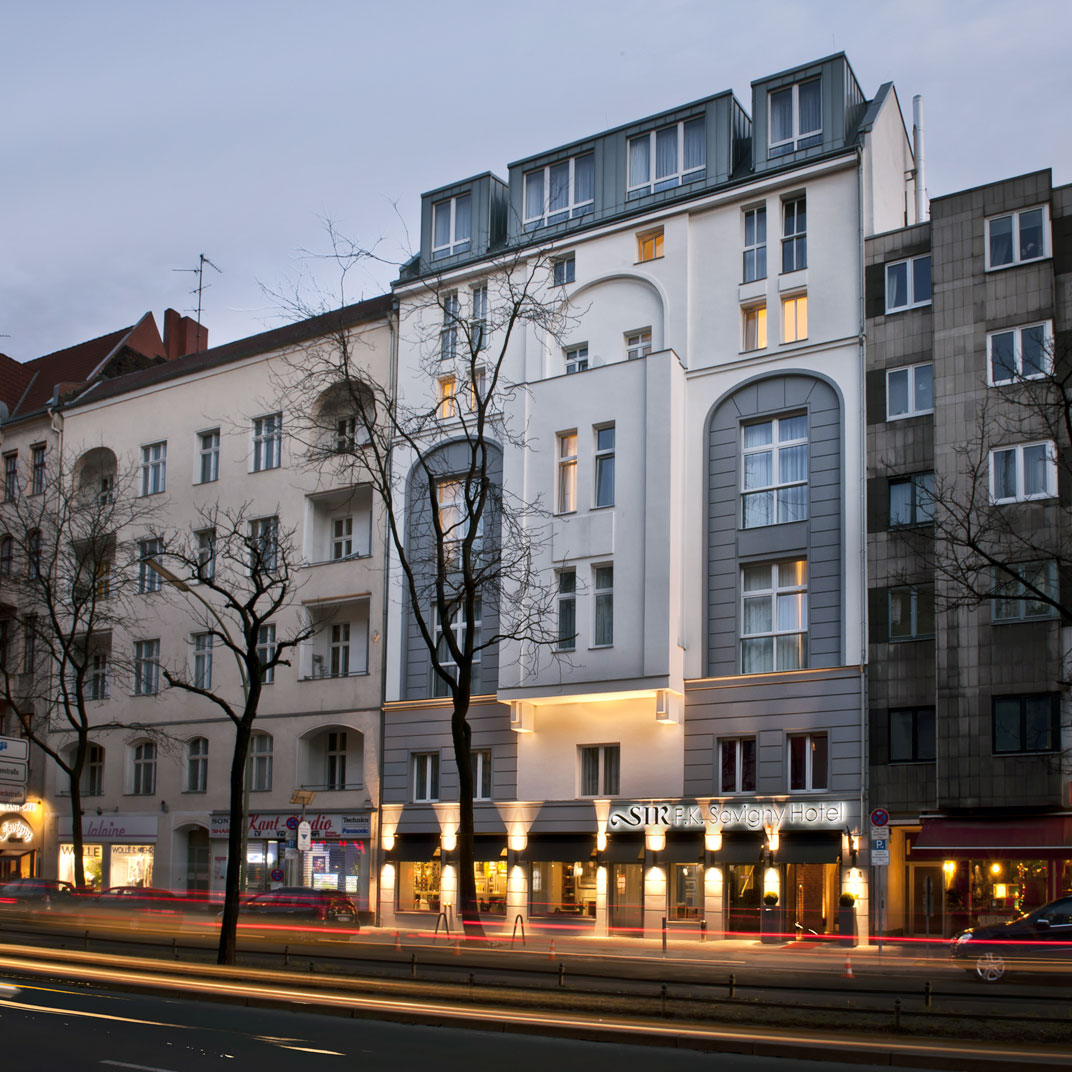 Sir f k savigny hotel berlin berlin germany best for Top hotels in berlin