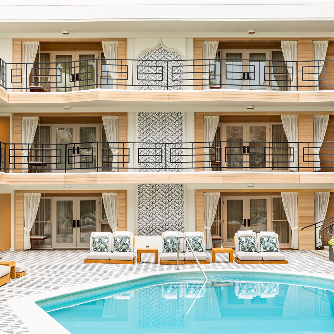 Hotel Oceana -- Santa Monica
