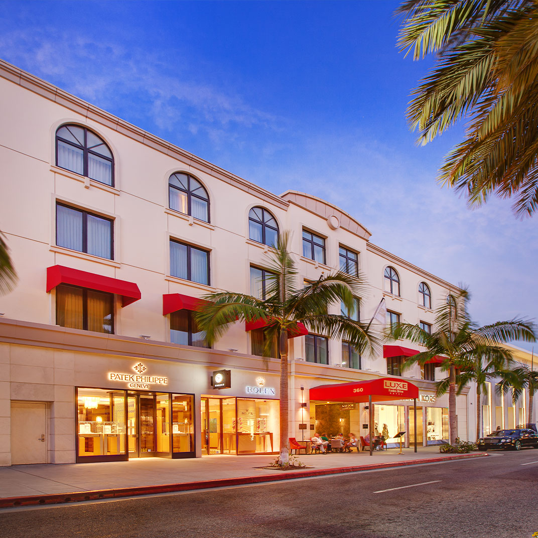 Luxe Hotel Rodeo Drive
