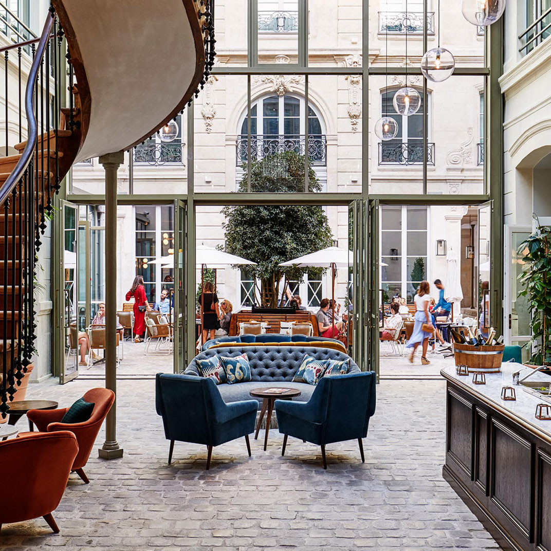 130 Boutique Luxury Hotels In Paris From Tablet Hotels A Michelin Experience
